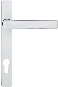 Комплект дверных ручек под жалюзи, выступание ручки 25 мм