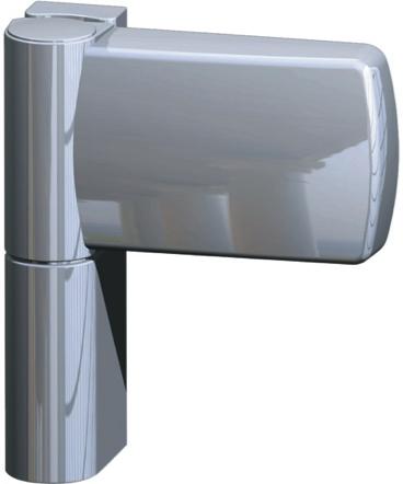 Дверная петля m-tec III с уголком на 120 кг