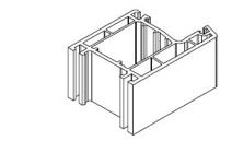 Переходник, Для дверных порогов высотой 20 мм с открыванием двери наружу
